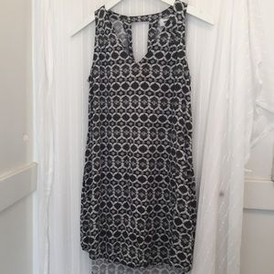 Black and white shirt dress Old Navy